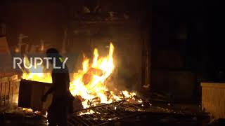 USA: Minneapolis police precinct set on fire during protest over George Floyd's death