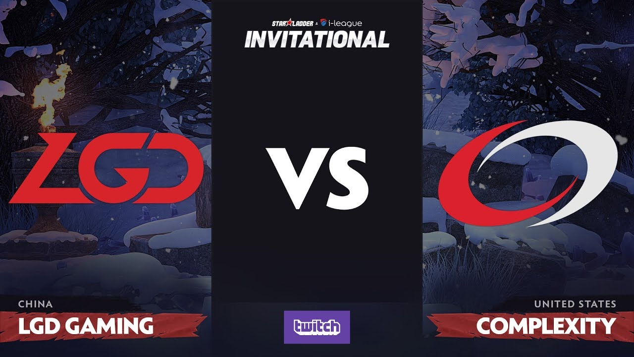 LGD Gaming против compLexity, Первая карта, Group A, SL i-League Invitational S4