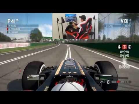 Formula 1 2013 PC. Simulador com Movimento