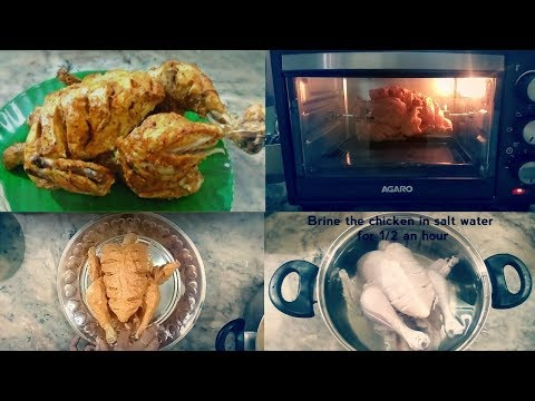 grill-chicken-in-otg-.-rotisserie-chicken-recipe.-one-life-tamil