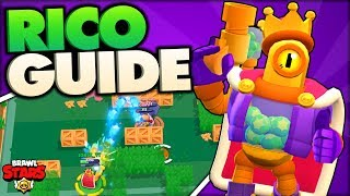 How to Play Rico - Advanced Rico Guide - Brawl Stars