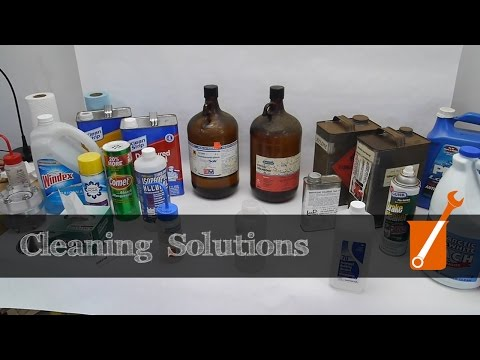 How to choose a cleaning solution