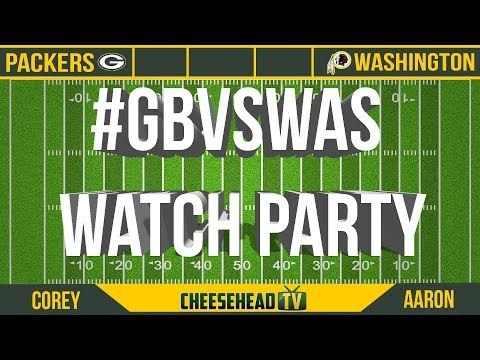 Packers Watch Party: Green Bay visits Washington