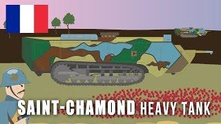 WWI Tanks: Saint-Chamond