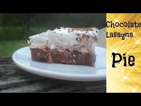 How to make a Chocolate Lasagna Pie Nazkitchenfun