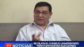 Se dilata el concejo universitario para fijar nuevas elecciones