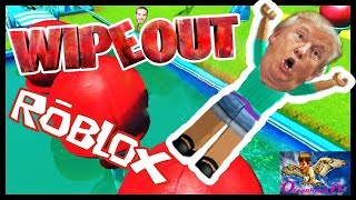 Lets Play Roblox WIPEOUT Edition! Echtes Leben ausgelöscht Verse Roblox ... mit oceanhawk