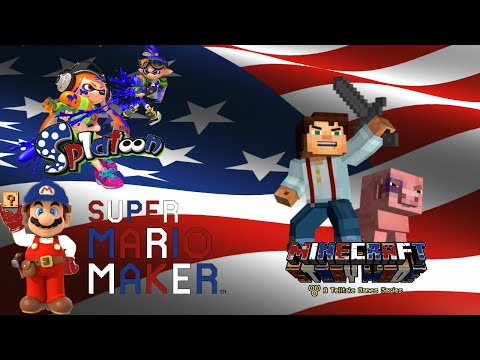 Happy 4th of July STREAM!!! | Super Mario Maker, Splatoon, MC Story Mode Episode 3!! |