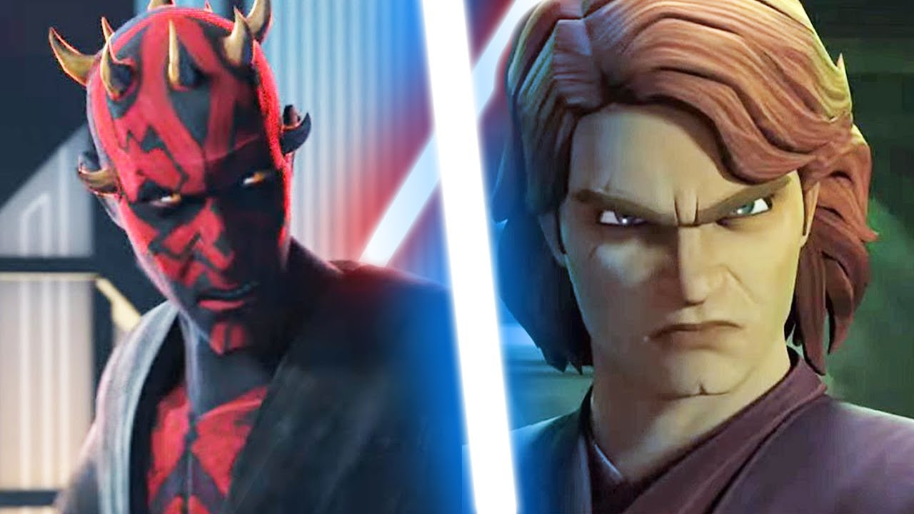 What if Anakin Went to Mandalore to Fight Maul- Star Wars Theory (Scenario 1)