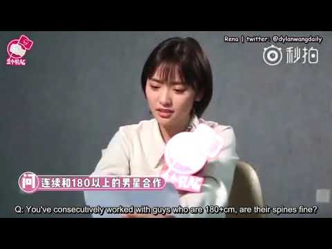 [ENGSUB] Shen Yue mentioned Dylan Wang in an interview