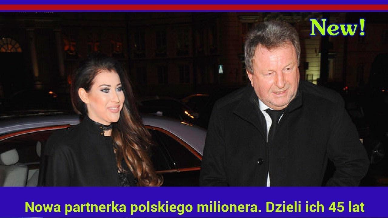 Nowa partnerka polskiego milionera. Dzieli ich 45 lat