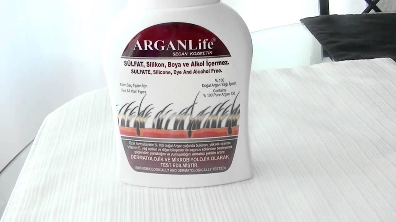 ARGANLife Anti Hair Loss Shampoo Review - YouTube