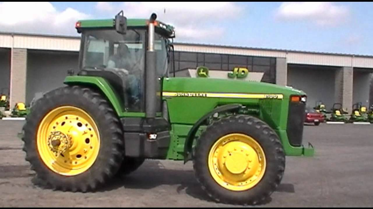 John Deere 8100 Wiring Harness Schematics Diagrams Pf80988 For Sale Youtube Front End Parts