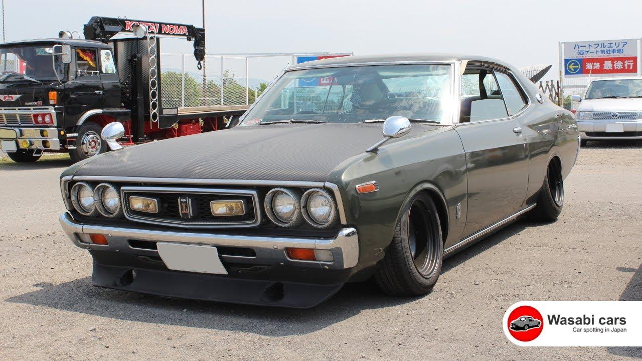 Jdm Cool 1974 C130 Nissan Laurel Gl Quot Butaketsu Quot Hardtop