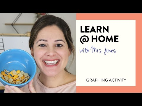 Graphing Activity - Gather, Grab & Graph | Learn At Home With Mrs. Jones