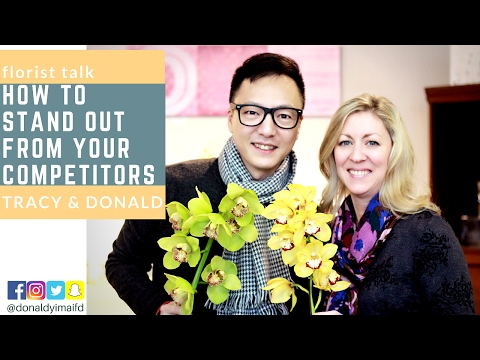 Florist Talk - How to stand out from your competitors? Join us at youTube for some tips on how to