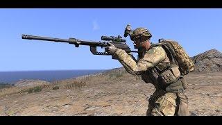 ARMA 3 - Привыкаю к снайперской винтовке и стрельбе(Ich versuche mich an das Scharfschützengewehr zu gewöhnen., 2016-05-14T09:06:38.000Z)