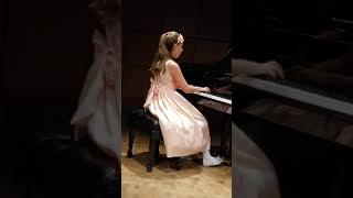 Anna Fiorito  Steinway & Sons Piano Competition 2019