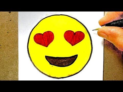 How To Draw Emoji Como Desenhar Emoji Como Desenar Youtube