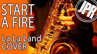 START A FIRE - LA LA LAND & John Legend COVER - One Man Band