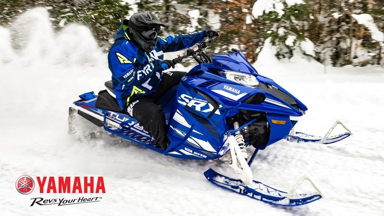2019 Yamaha Sidewinder SRX LE Trail Snowmobile - Videos