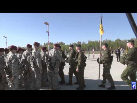 The 173rd Airborne Brigade and the start of Operation Atlantic Resolve