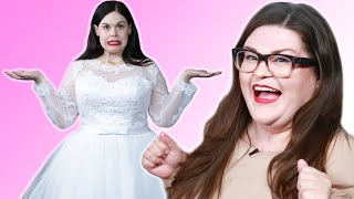I Tried Under-100 Wedding Dresses From Amazon