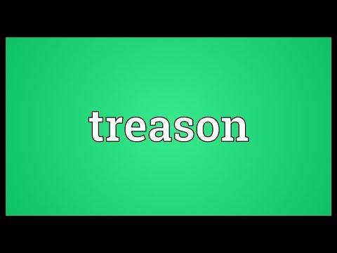 Treason Meaning