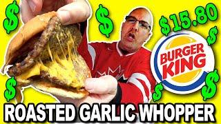 Burger King ?? NEW ROASTED GARLIC WHOPPER & Jalapeno Cheesy Bites