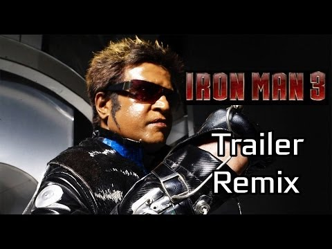 Iron Man 3 Tamil Trailer - Endhiran Remix