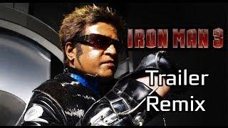 Iron Man 3 Tamil Trailer - Endhiran Remix