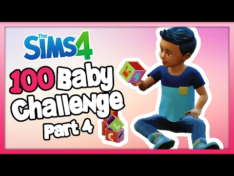 The Sims 4: 100 Baby Challenge with Toddlers - Part 4 - Our First Toddler!
