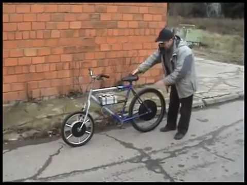 Японский магнитный мотор-колесо / Japanese magnetic motor-wheel .