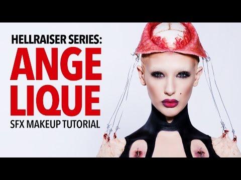 Hellraiser: Angelique special fx makeup tutorial