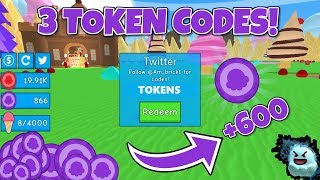 3 TOKEN CODES | Ice-Cream Simulator (Roblox)