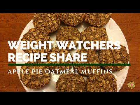 weight-watchers-recipe-share-|-apple-pie-oatmeal-muffins-|-2sp
