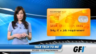 PCI DSS: Twelve IT requirements