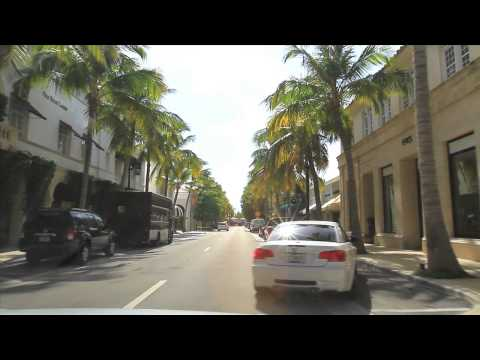 Palm Beach, FL Street Tour