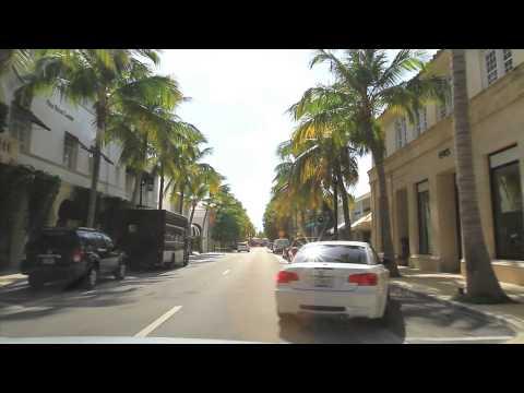 Palm Beach, FL Street Tour