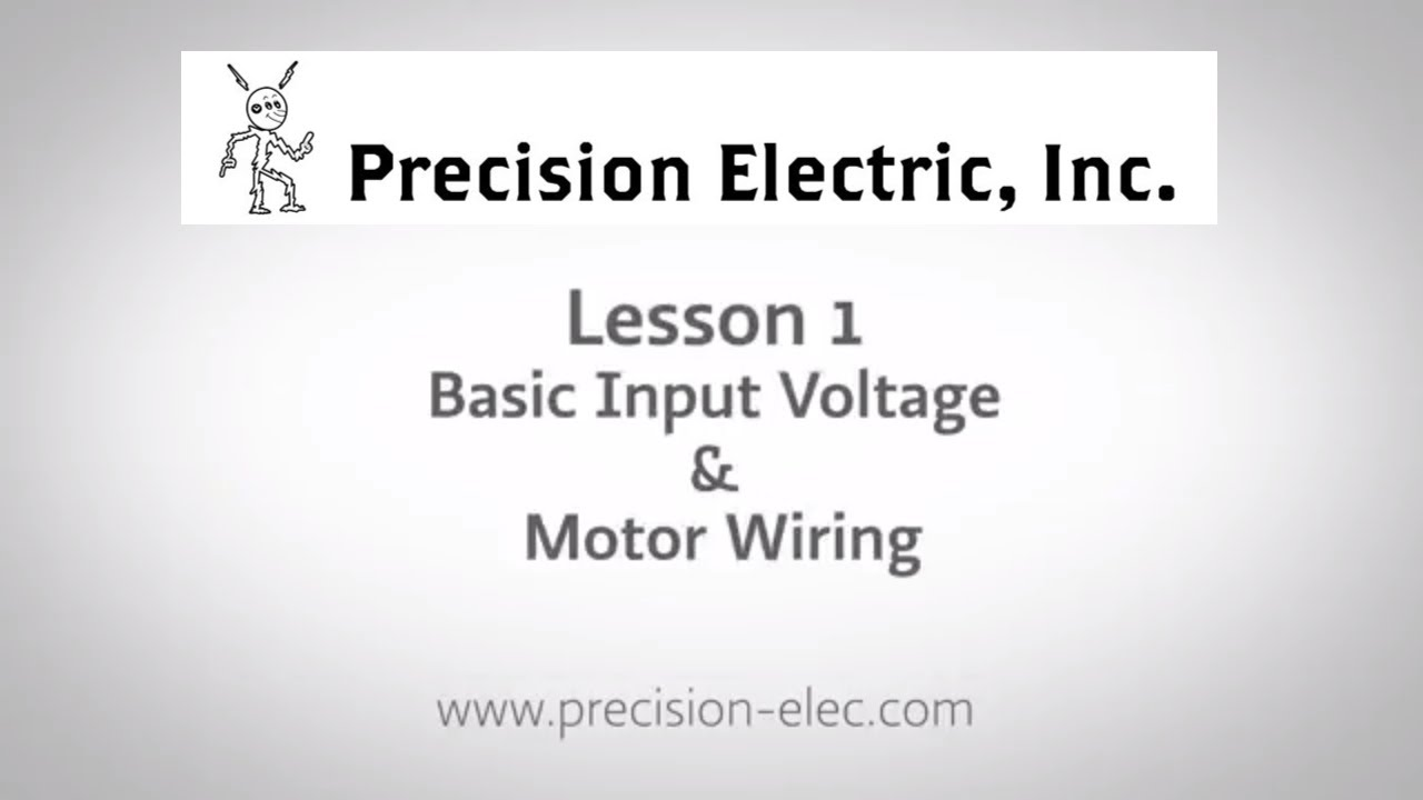 ABB ACS355 Training Lesson 1: Basic Input Voltage & Motor Wiring - on