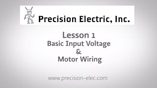 ABB ACS355 Training Lesson 1: Basic Input Voltage & Motor Wiring - Variable Frequency Drives