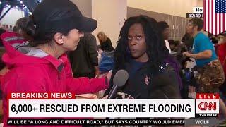 Hurricane Harvey: Houston flood victim calls out CNN reporter Rosa Flores live on air - TomoNews