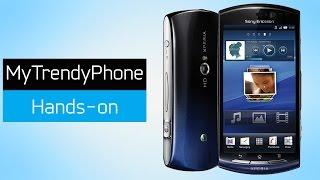 Sony Ericsson Xperia Neo - Blue Gradient {Unboxing}