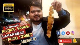 Tornado Potato Sticks  Spiral Fried Potato  Lahore Street Food