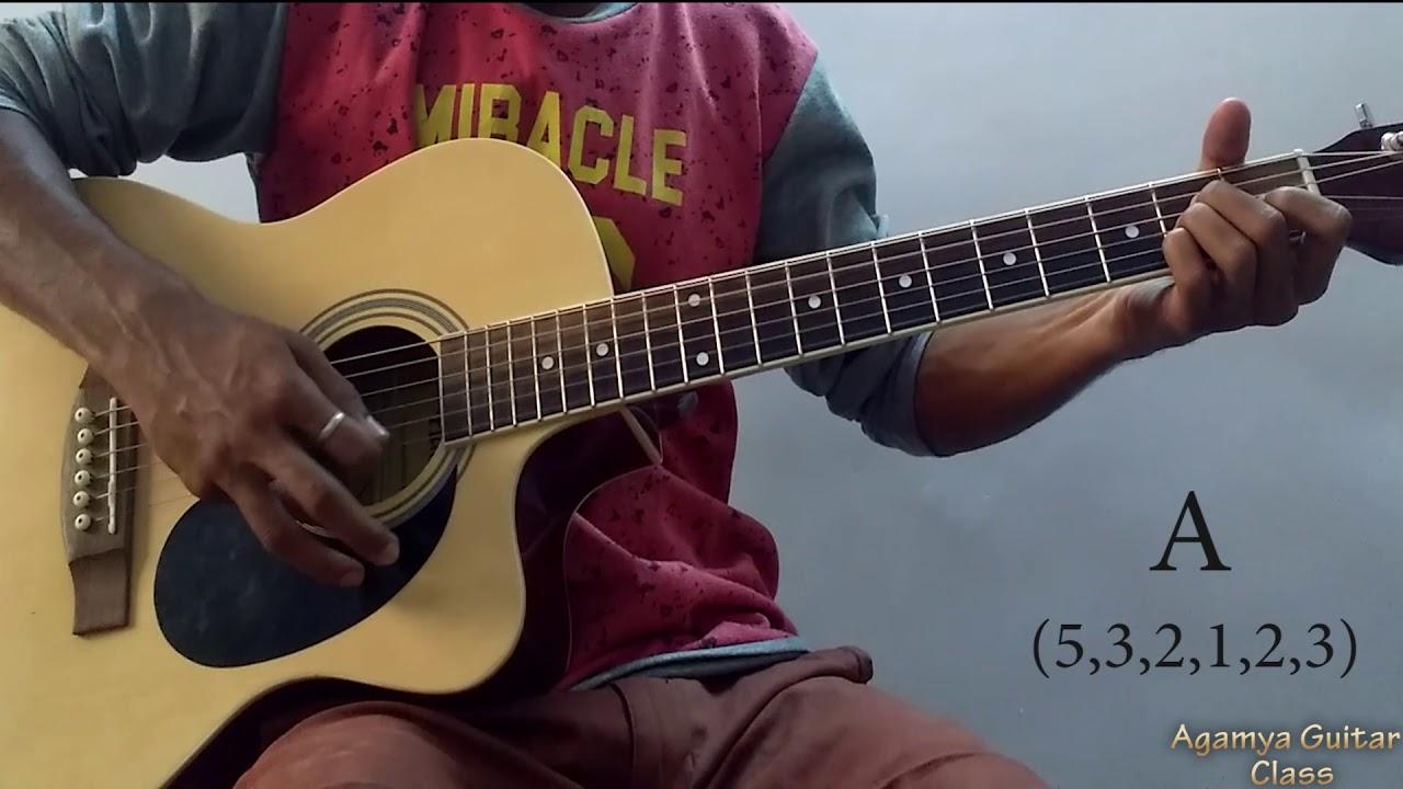 Doorie Atif Aslam Guitar Chords Lesson Strumming Pattern Running