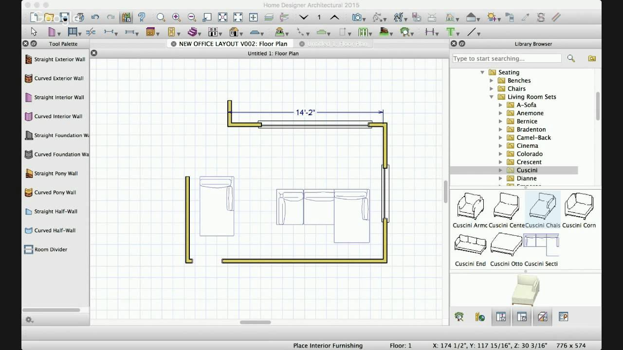 Interior Design / Living Room Space Planning Ideas