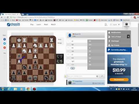 Шахматы - Блиц онлайн - Гитлер капут