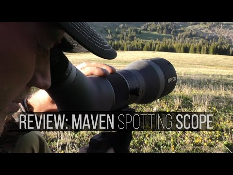 Optics Review: Spotting Scope by Maven