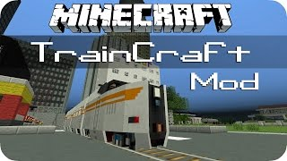 TrainCraft - Minecraft Mod Review [DE] [HD]