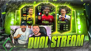 FIFA 21: DUAL Rule Breakers Pack Opening + Weekend League😱🔥 Livestream mit Proownez